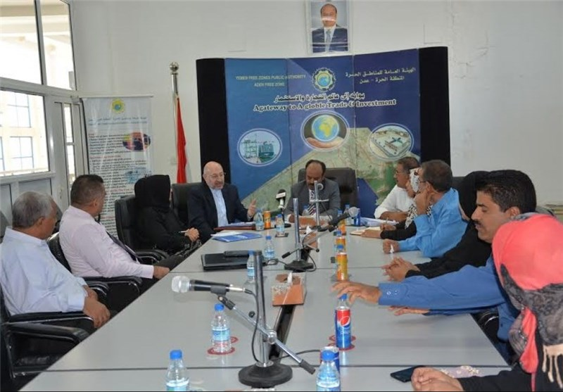 تاکید بر همکاری اقتصادی تهران و صنعاء در دیدار سفیر ایران از منطقه آزاد عدن