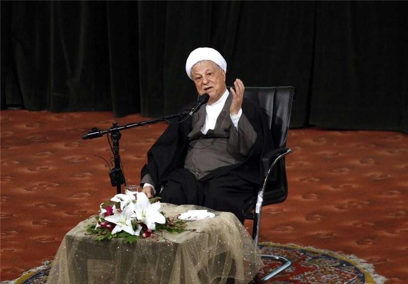 آیةالله رفسنجانی: الجماعات المتطرفة حققت ماعجز عنه الغرب