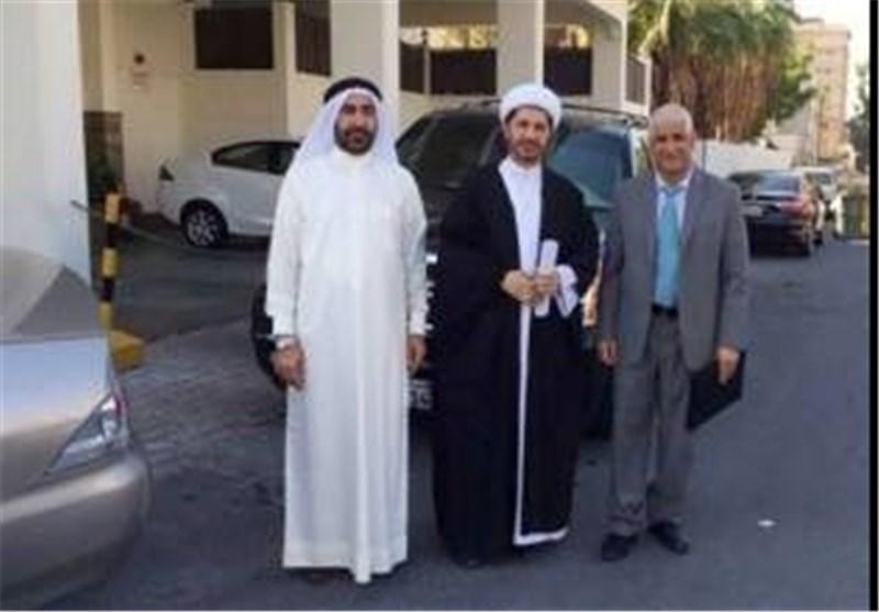 الشیخ علی سلمان للمحققین : أنا مستهدف لأنی عالم دین شیعی