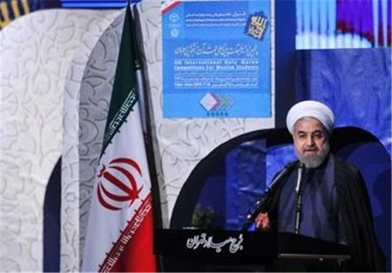 روحانی : العودة الى القرآن الکریم هی السبیل لنجاة المسلمین