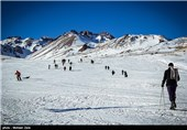 Alvares Ski Resort in Ardabil, Iran