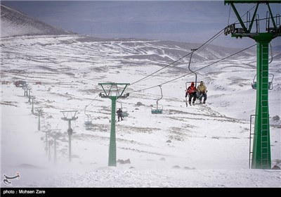'Alvares' Ski Resort in Iran's Ardebil Province