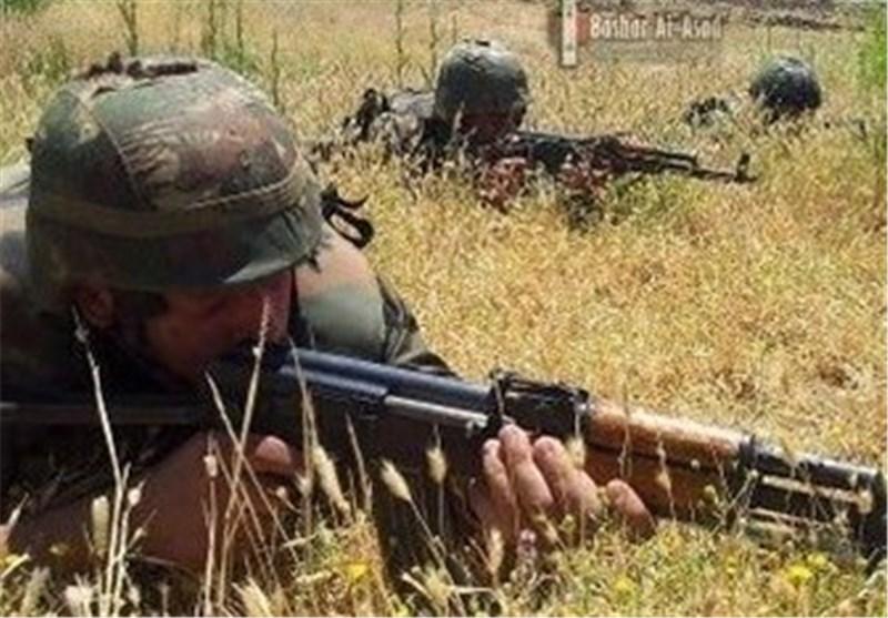 الجیش السوری ینفذ سلسلة عملیات نوعیة ضد العصابات التکفیریة فی إدلب شمال البلاد