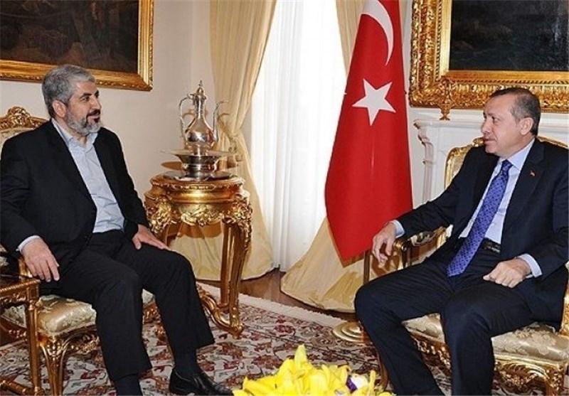 اردوغان یحذر مشعل من ای نشاط ضد «اسرائیل»من على الاراضی الترکیة