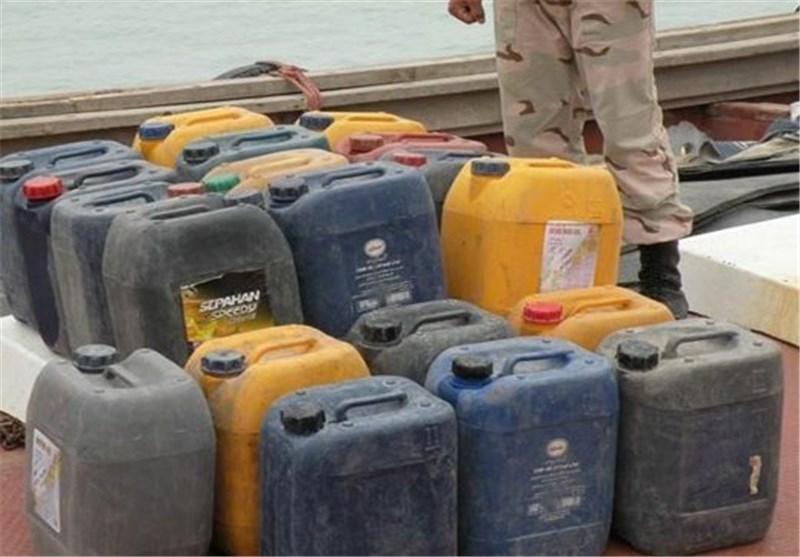 محموله سوخت در درگیری مسلحانه دریابانی هرمزگان با قاچاقچیان کشف شد