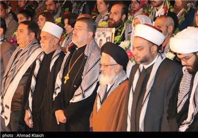 حفل تکریم عوائل الشهداء فی العاصمة السوریة دمشق