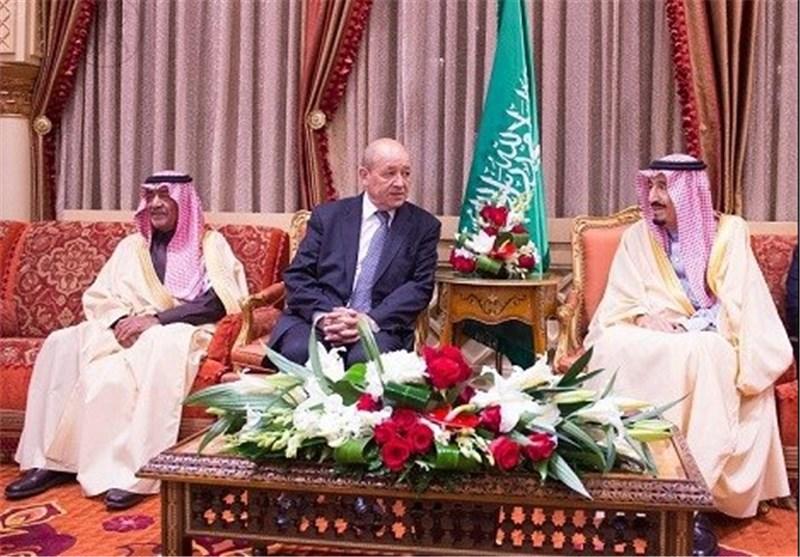 وزیر الدفاع الفرنسی یبحث فی الریاض مسألة تسلیم أسلحة فرنسیة الى لبنان