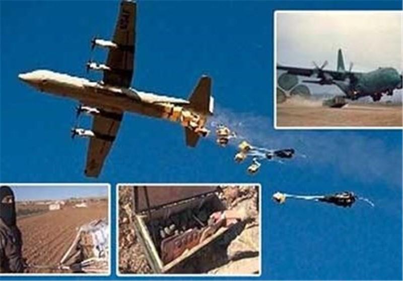 "أسلحة امریکیة وأغذیة سعودیة وقطریة فی مخابىء""داعش"" بالعراق"