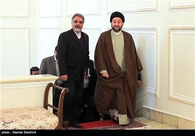 Iraq's Ammar Hakim Meets Iran's Foreign Minister in Tehran