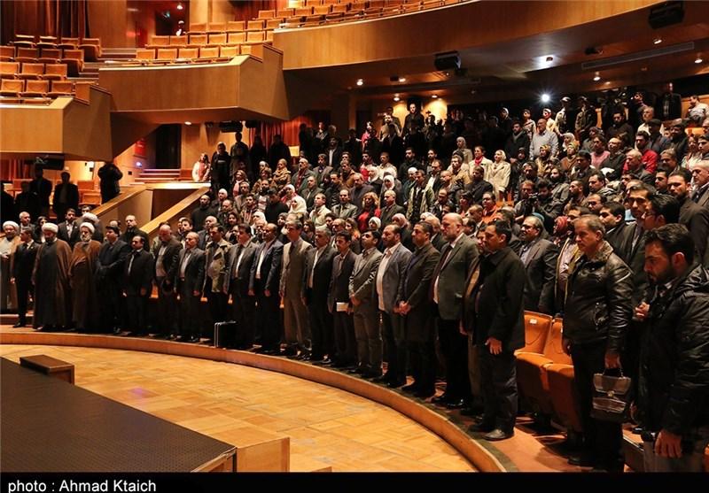 """افتتاح حفل """"أسبوع أفلام المقاومة"""" فی دار الأسد بالعاصمة السوریة"""