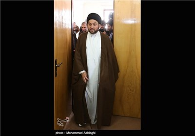 Iraq's Ammar Hakim Meets Senior Iranian Clerics