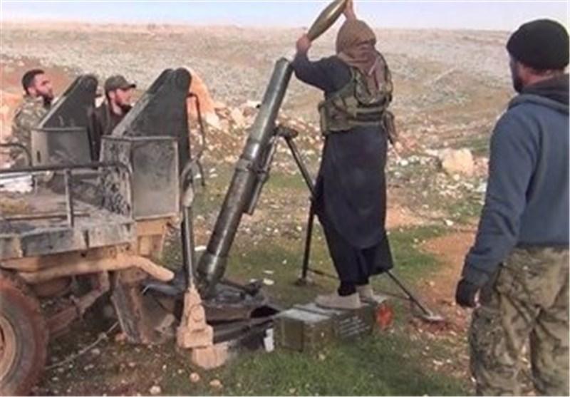""""""" جبهة النصرة"""" الإرهابیة تقصف بقذائف الهاون بلدتی نبل والزهراء شمال سوریا"""
