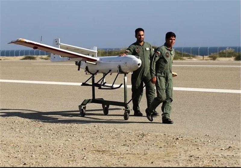 آموزش محورشناسی به افسران دافوس ارتش با پهپاد مهاجر2 نوین + عکس