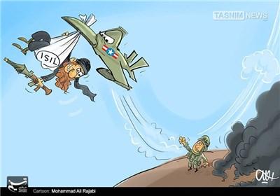 کاریکاتور/ پرنده ناجی