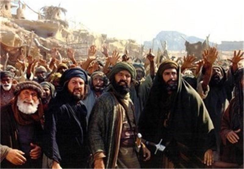 بدء عرض المشاهد الخاصة بفیلم محمد (ص) الذی یعتبر أکبر مشروع سینمائی ایرانی