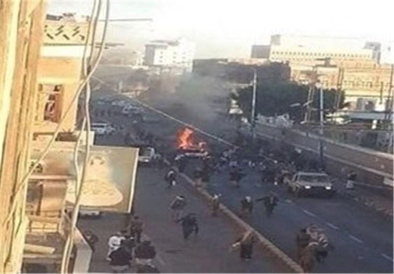 عشرات الضحایا فی تفجیر سیارة مفخخة أمام کلیة الشرطة وسط صنعاء