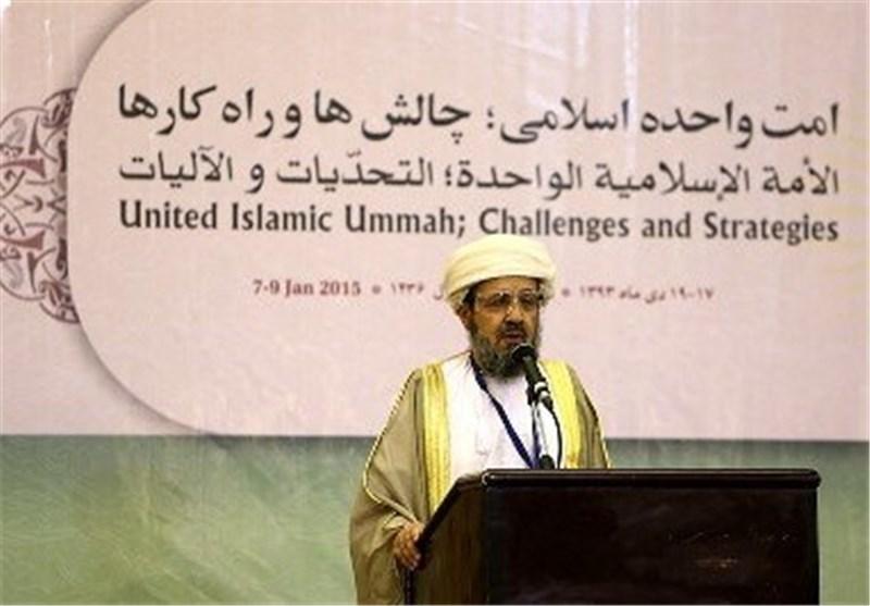 مفتی عام سلطنة عمان من مؤتمر الوحدة: الامة الاسلامیة تمر بمرحلة صعبة