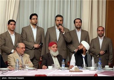 حزب مؤتلفة اسلامی فی الجمهوریة الاسلامیة الایرانیة یستضیف أحزاب الدول الاسلامیة