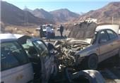 4 کشته در پی واژگونی سواری 405 در ورودی شهر مشهد