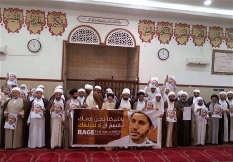 اعتصام علمائی احتجاجا على اعتقال الشیخ علی سلمان