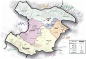 نقشه قزوین