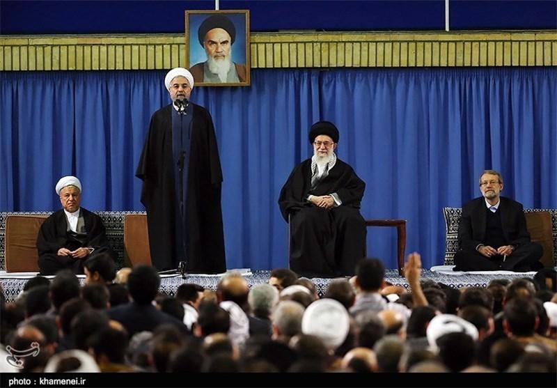 Iran's President Raps Violence in Name of Religion
