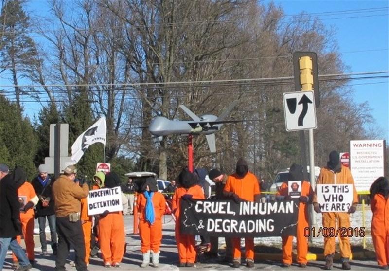 Demonstrators in Virginia Call for Guantanamo Shutdown