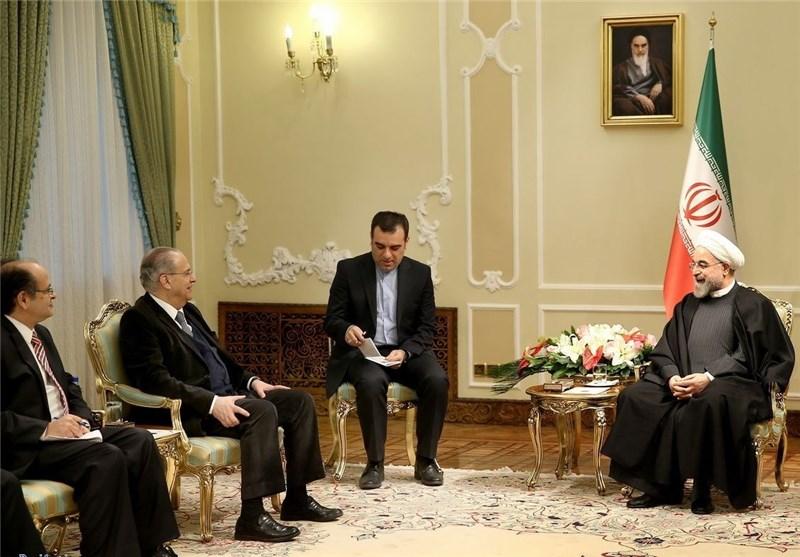 الرئیس روحانی: ایران الاسلامیة تتطلع لاعتماد تعاون أکثر قربا مع الاتحاد الاوروبی