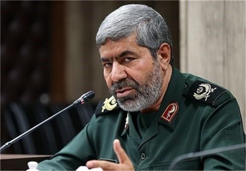 العمید شریف: عدد القوی الاستشاریة لحرس الثورة الاسلامیة سیزداد فی سوریا