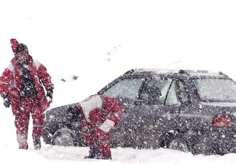 Image result for گرفتار در برف