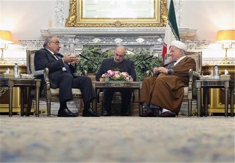 رفسنجانی و وزیر نفت عراق