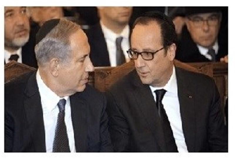 صحیفة صهیونیة : نتنیاهو اهان الفرنسیین فأصبح عنصرا غیر مرغوب فیه