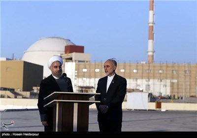 President Rouhani Visits Iran's Bushehr Nuclear Power Plant