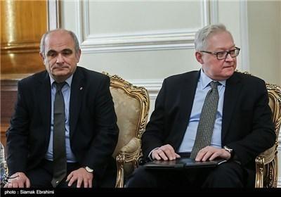 وزیر الخارجیة یستقبل مساعد وزیر الخارجیة الروسی سیرغی ریابکوف