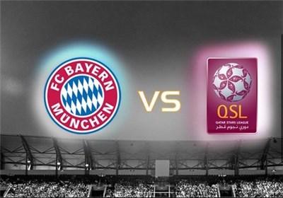 بازی دوستانه بایرن مونیخ و ستارگان لیگ قطر