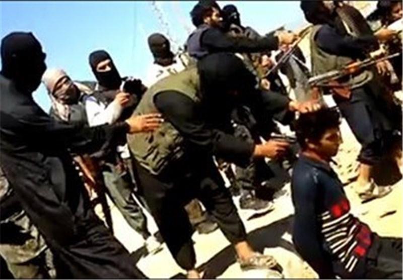 """عصابات """"داعش"""" الارهابیة تعدم 13 شابا لمشاهدتهم مباریات کرة القدم بین منتخبی العراق والاردن"""