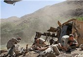 سقوط 2 بالگرد کشته شدن 16 سرباز و محاصره 12 نظامی آمریکایی در ولایت هلمند