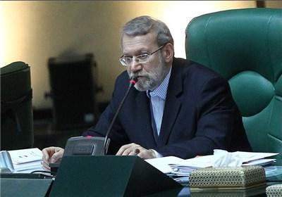 لاریجانی: الاتهامات الأمریکیة بشأن ناقلتی النفط هو استکمال للحظر الاقتصادی