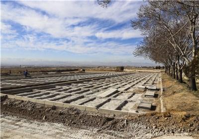 آرامستان جدید شهرستان سلماس برای تدفین اموات آماده شد