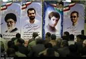 افتتاح نمایشگاه صنعت غنیسازی ایران و تجلیل از خانواده شهدای هستهای