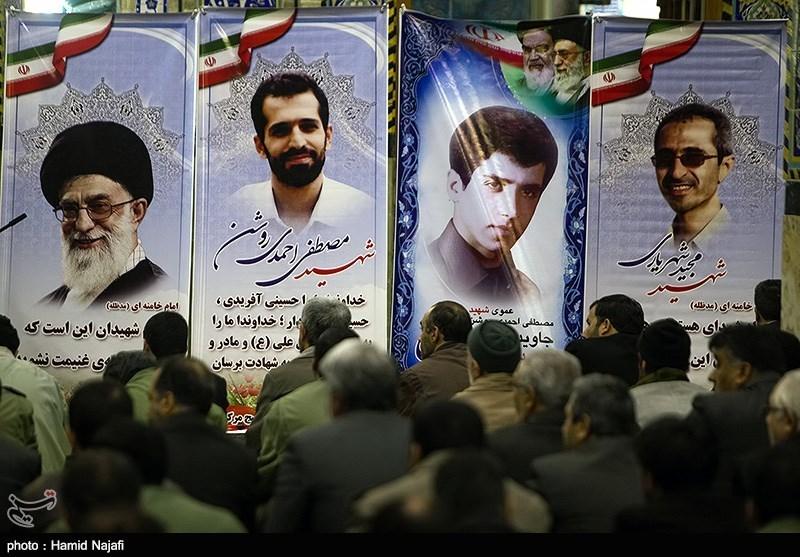 مراسم سومین سالگرد شهادت شهید احمدی روشن - یزد