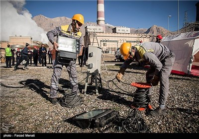 Iran Exercises How to Repel Possile Terrorist Attacks on Power Facilities