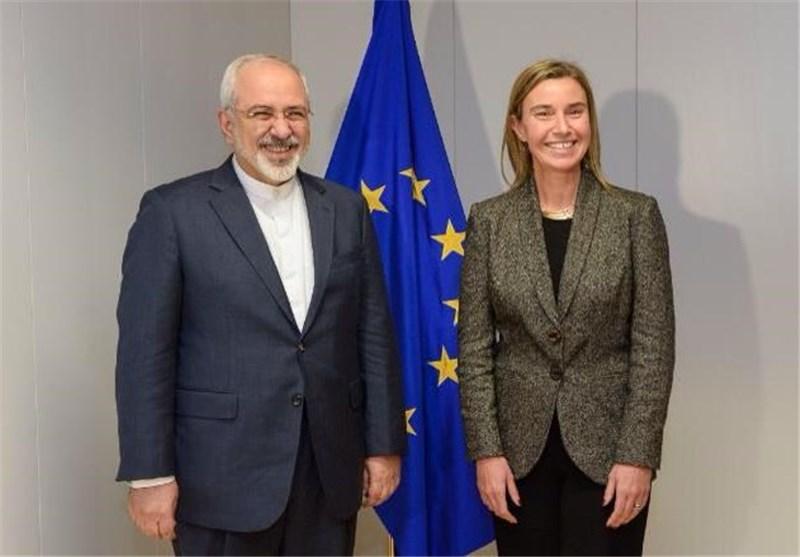 Top Iran, EU Diplomats Review Nuclear Talks