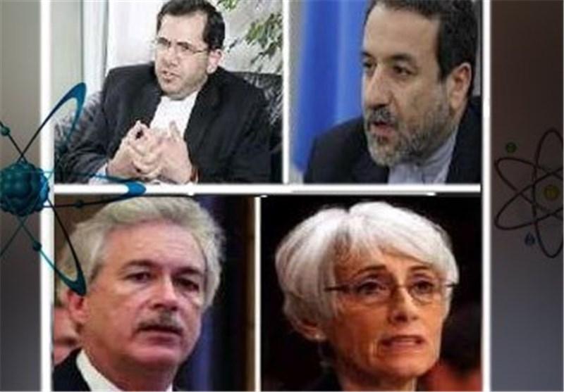 استئناف المفاوضات النوویة بین الوفدین الایرانی والامریکی فی یومها الثانی
