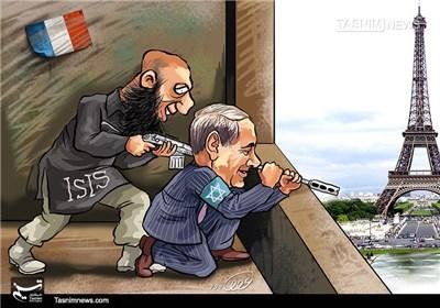 کاریکاتور/ ترورهای خود ساخته به منظور اسلام هراسی