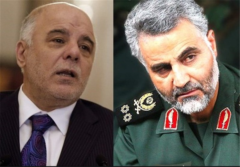 Iraqi PM, General Soleimani Confer on Counter-Terrorism Efforts