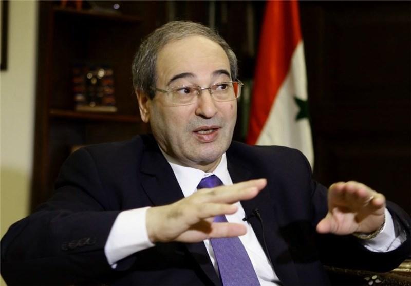 المقداد: هولاند یسعى إلى دور بأی ثمن وسوریا ستنتصر على الإرهاب