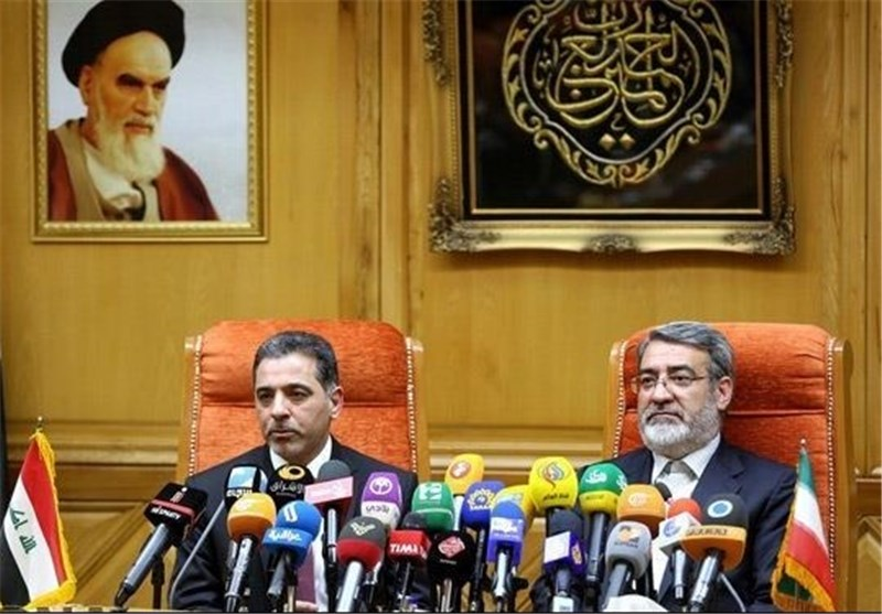عبد الرضا رحمانی فضلی ووزیر کشور عراق