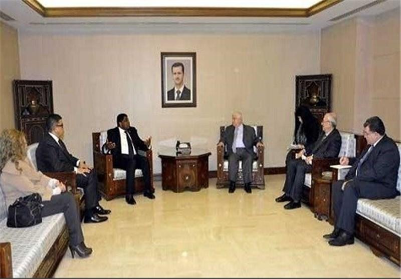 وزیر الخارجیة السوری: سوریا حریصة على محاربة الإرهاب الذی یضربها