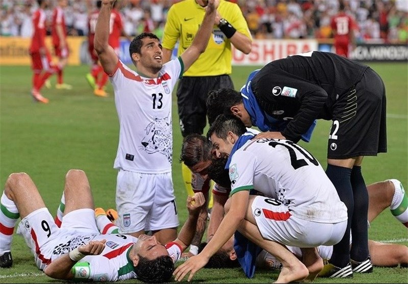 تیم ملی فوتبال ایران+ امارات